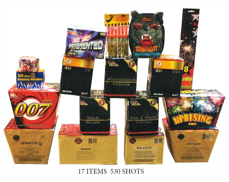 Munition box contents
